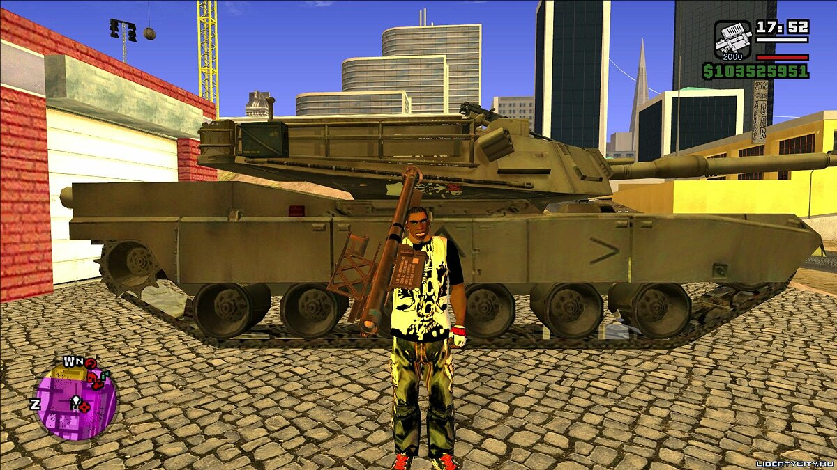 CLEO script Upgrade for RPG & Missle Launcher for GTA San Andreas
