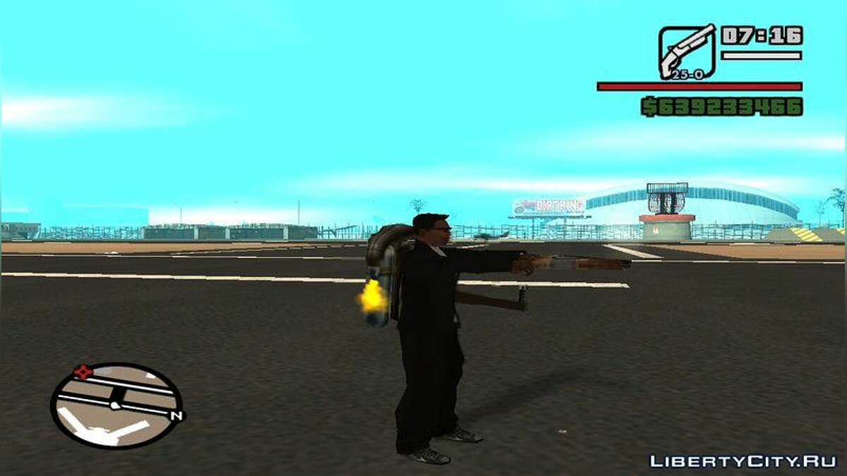 CLEO script Fast selection (spawn) weapons for GTA San Andreas