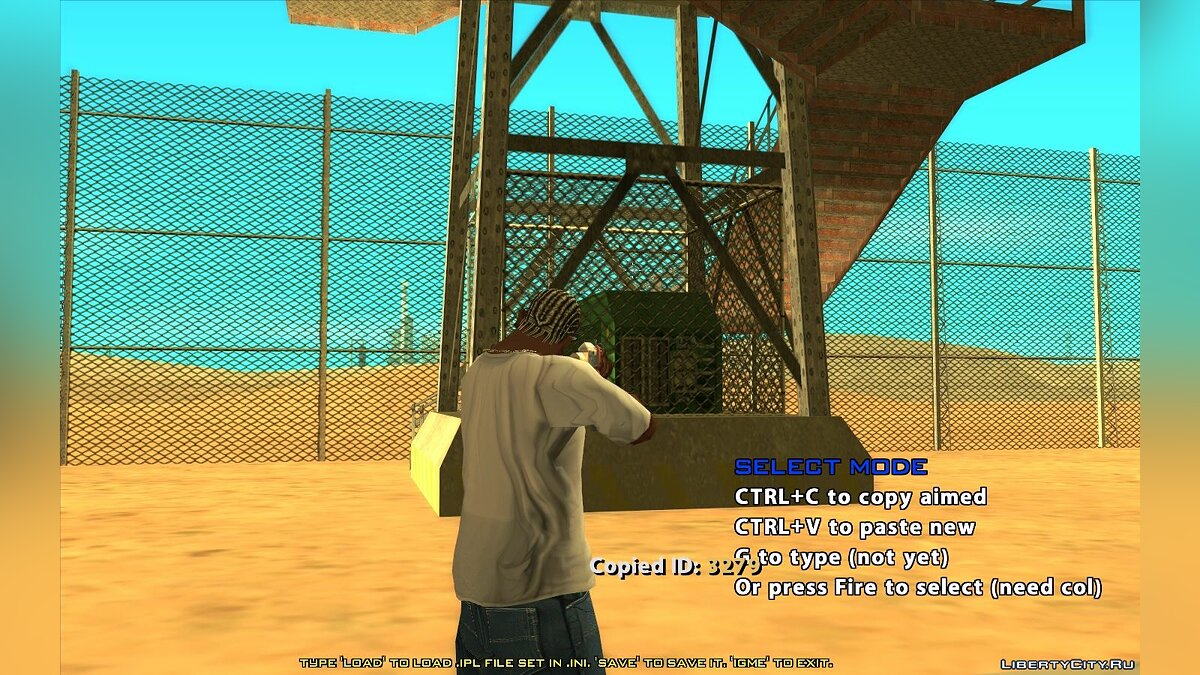 CLEO script In-Game Map Editor v0.6b - In-Game Map Editor (Update from 07/15/2021) for GTA San Andreas