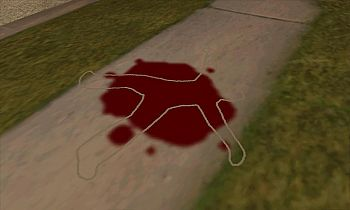 CLEO script The corpses are chalked like in GTA VC for GTA San Andreas