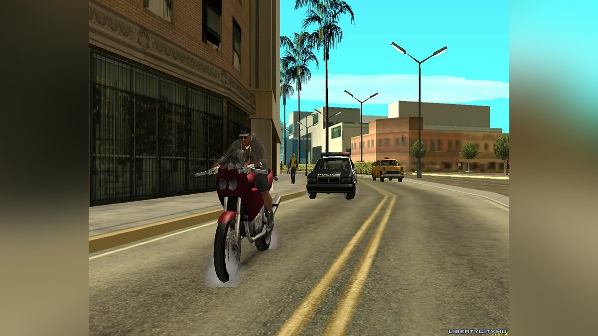 CLEO script Helmet mod for GTA San Andreas