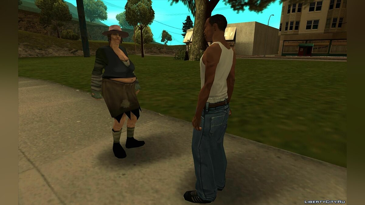 CLEO script Give some money to a bum for GTA San Andreas