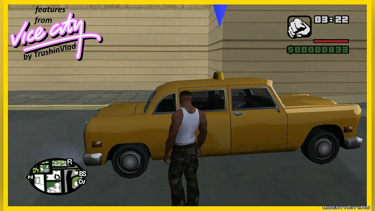 CLEO script Taxi before the mission as in GTA VC for GTA San Andreas