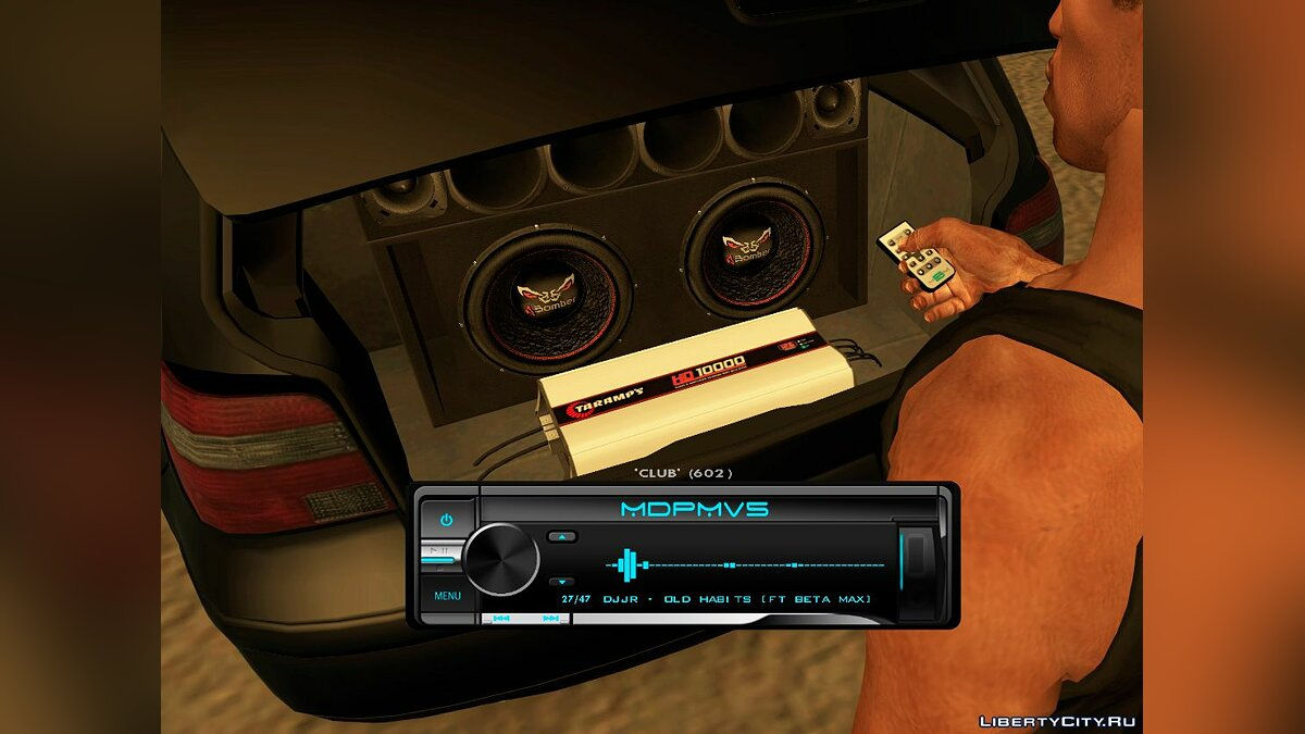 CLEO script MDPMv5 (speakers vibrating with bass) for GTA San Andreas
