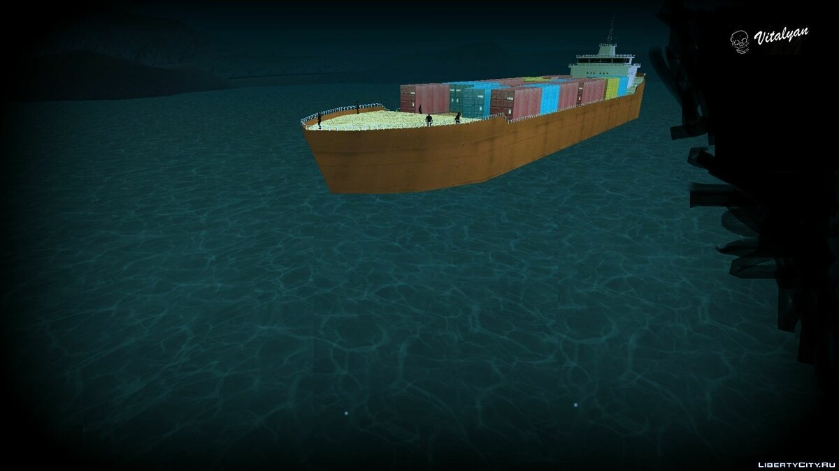 CLEO script The Ghost Ship for GTA San Andreas