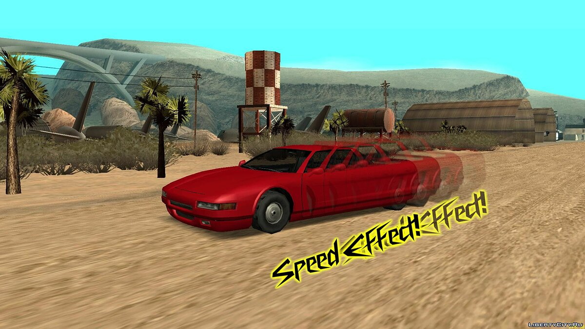 CLEO script Speed Effect for GTA San Andreas