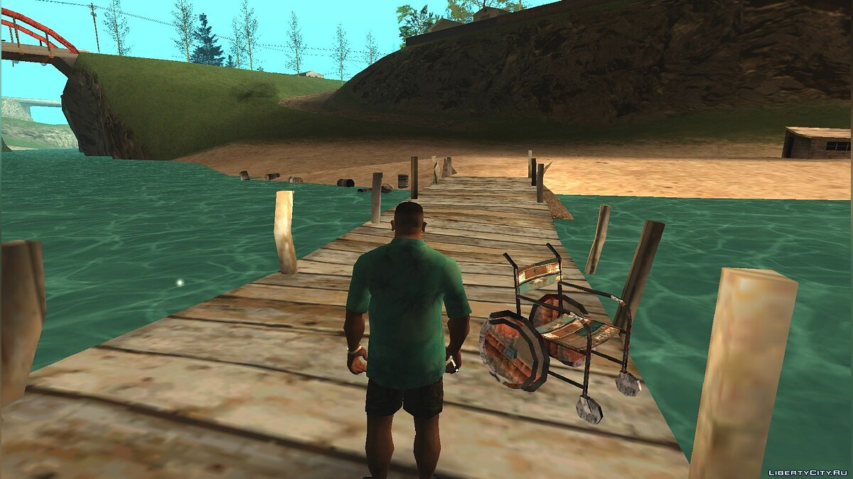 Fisherman's Lagoon Wheelchair Mystery (Update) for GTA San Andreas - Картинка #2