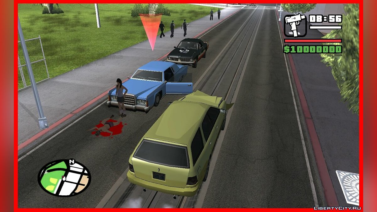 CLEO script Accidents on the roads like in GTA VC for GTA San Andreas