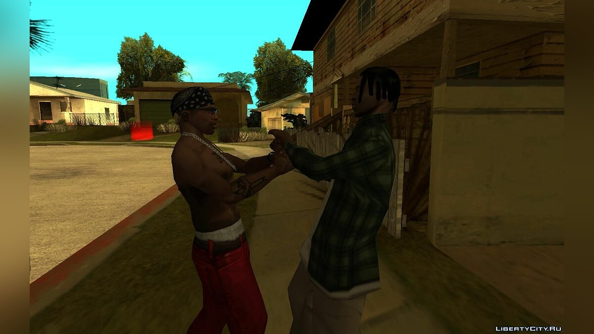 CLEO script Handshake for GTA San Andreas
