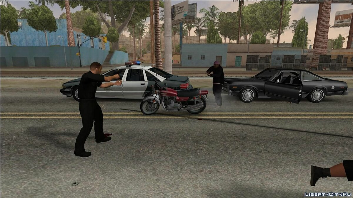 Police Assistance for GTA San Andreas