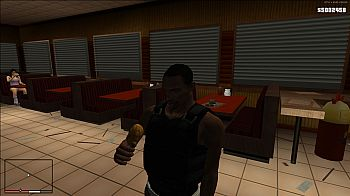 Food Eating Fix for GTA San Andreas - screenshot #2
