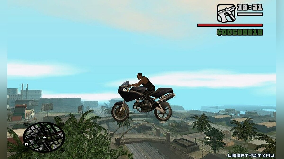CLEO script Motorcycle rides for GTA San Andreas