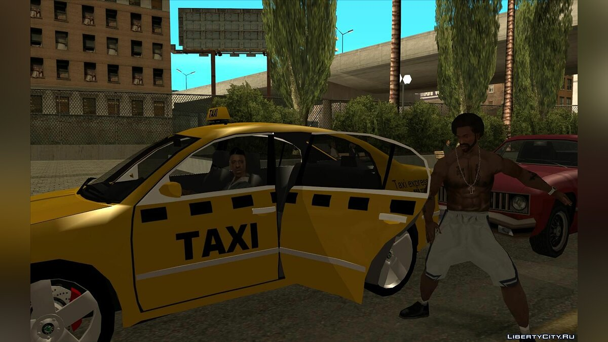 CLEO script Take a taxi ride for GTA San Andreas