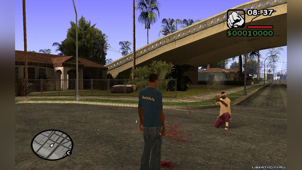 CLEO script Remove weapons from the enemy for GTA San Andreas