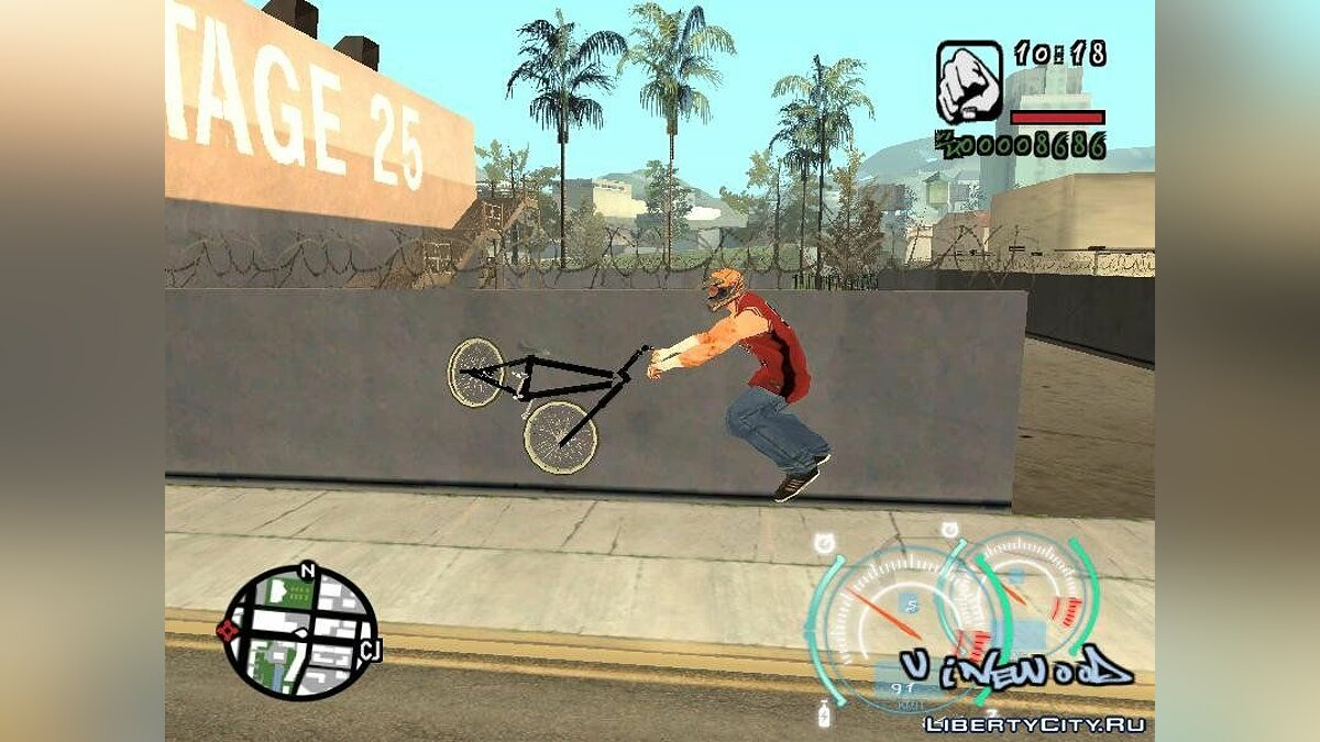 BMX Mod Trick's for GTA San Andreas