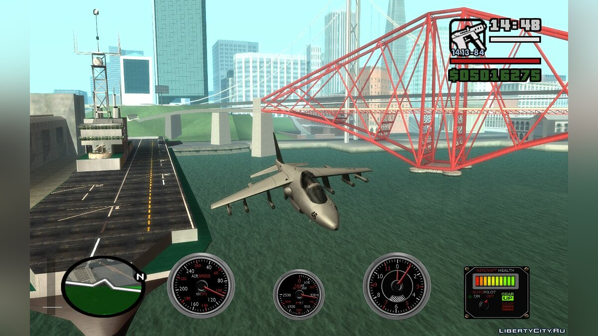 CLEO script Onboard computer for aircraft 2.0v for GTA San Andreas