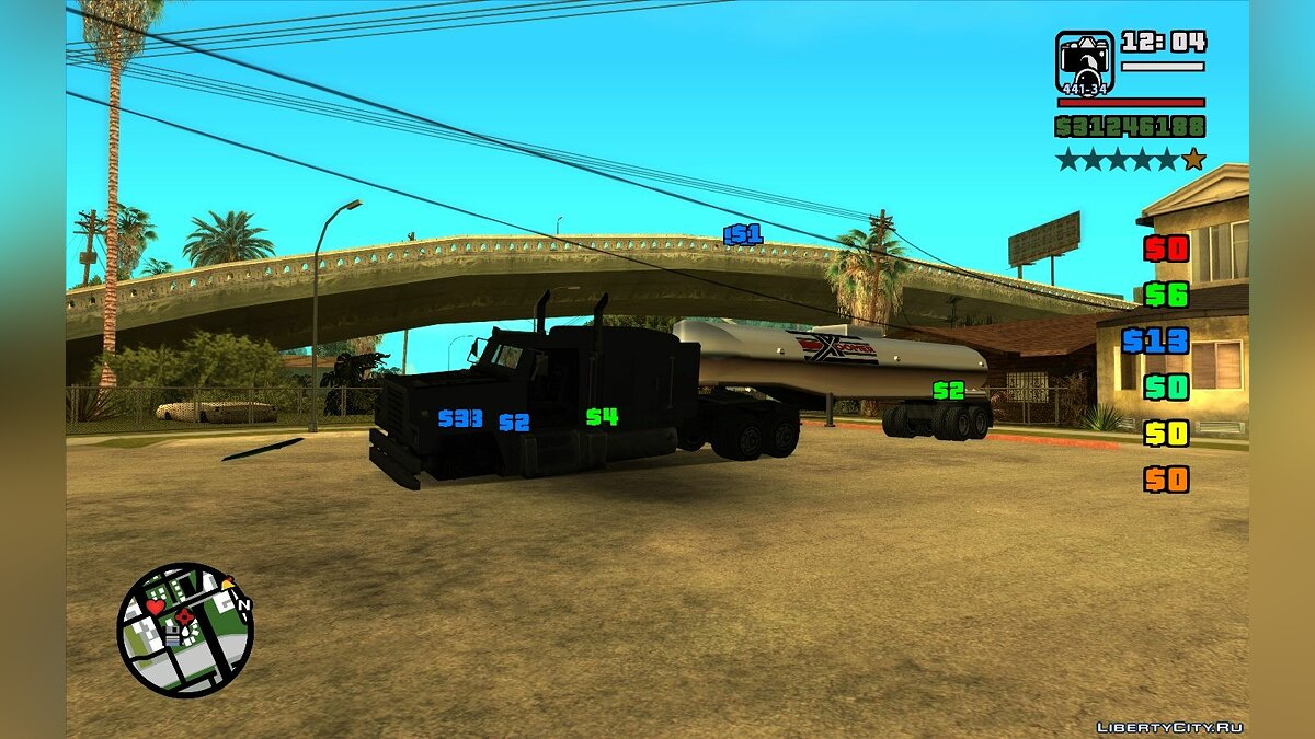CLEO script Work as a photographer (Get paid for interesting photos) for GTA San Andreas