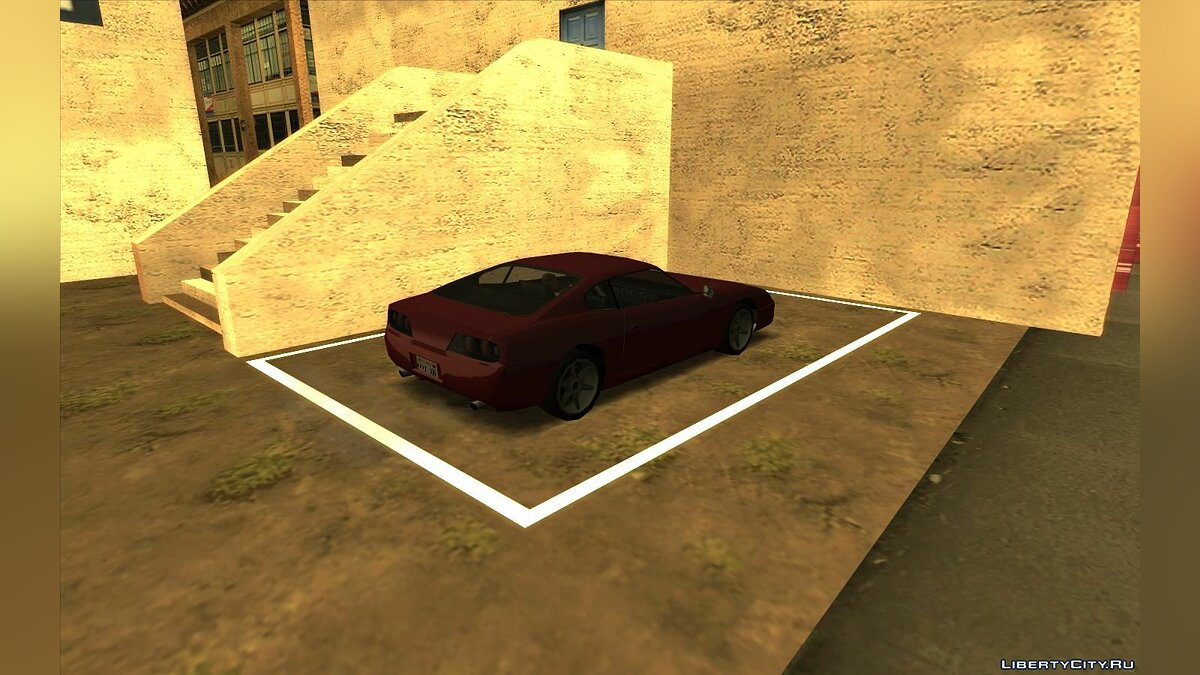 CLEO script Parking Save Garages - parking spaces in the style of GTA 4 and GTA 5 v1.0.5 for GTA San Andreas