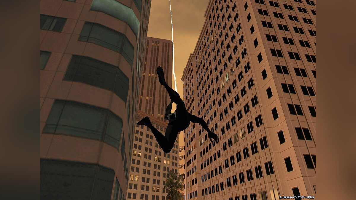 CLEO script Spider Man by J16D (Spider Man) for GTA San Andreas