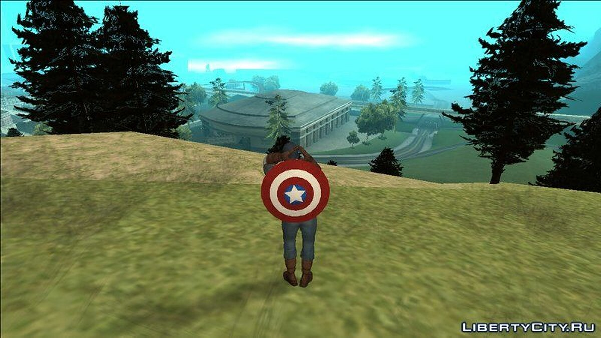 CLEO script Captain America CLEO Mod for GTA San Andreas