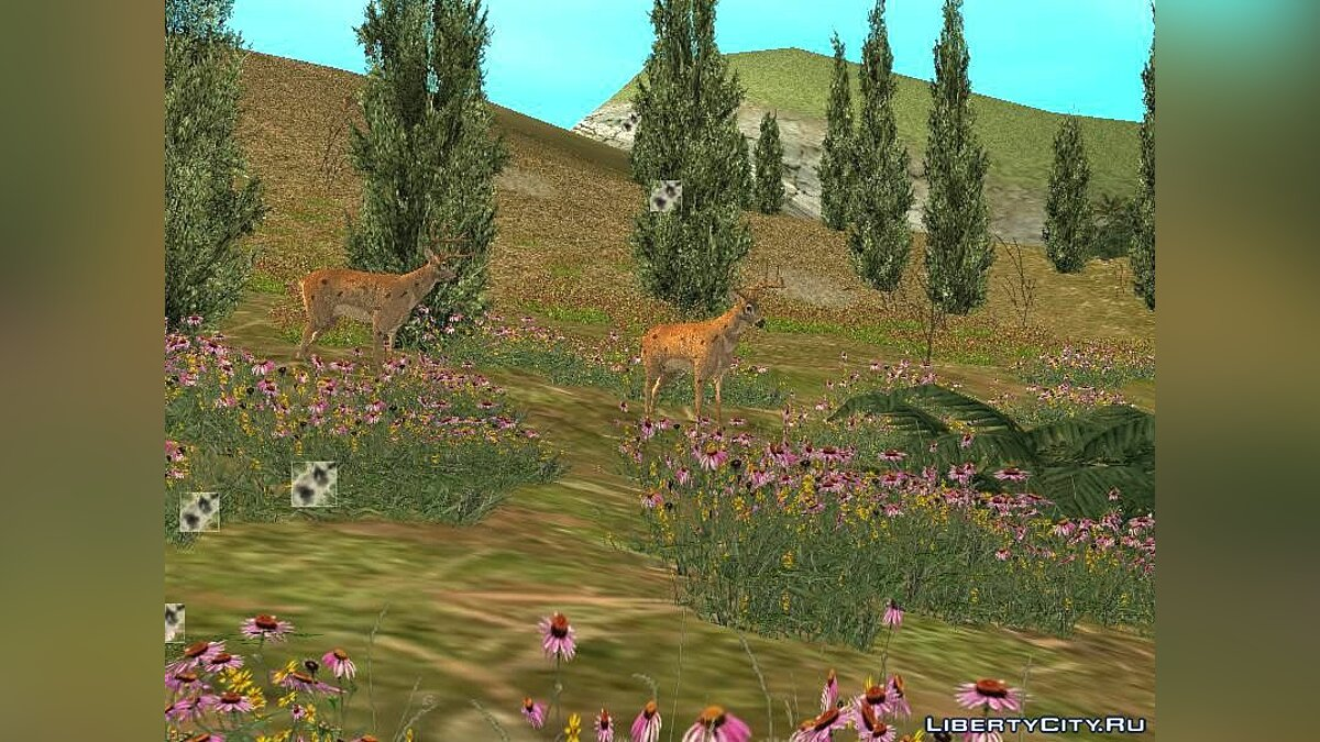 CLEO script Deer in the forest for GTA San Andreas