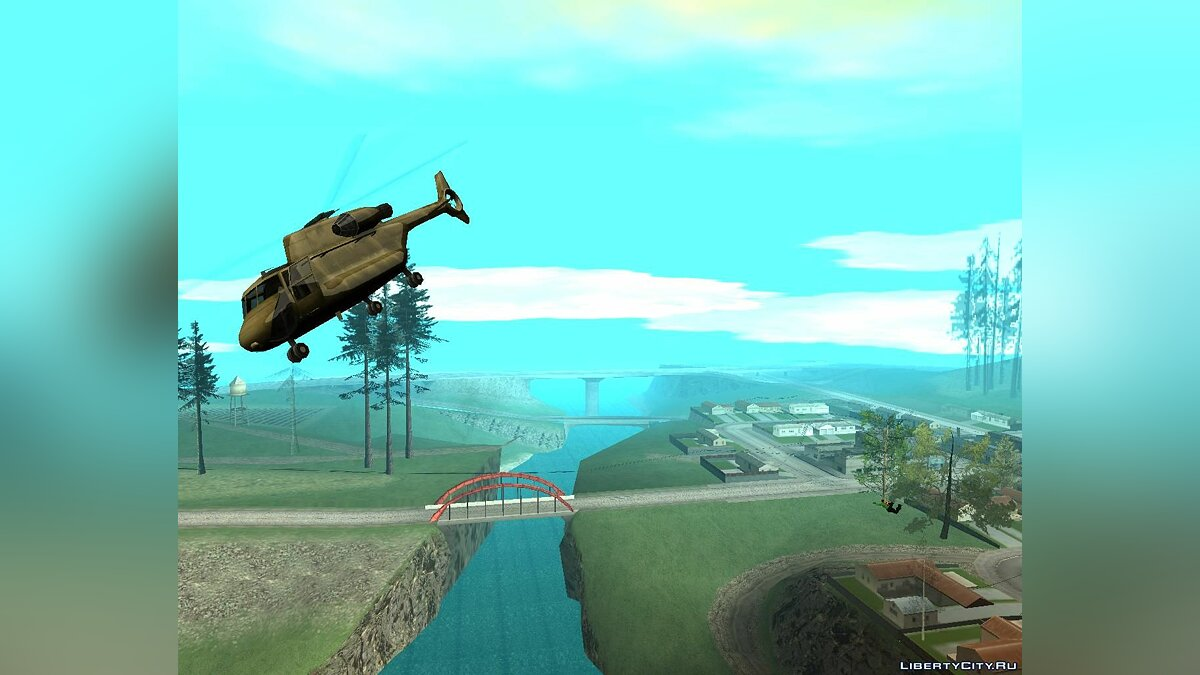 CLEO script Fix helicopter engine for GTA San Andreas