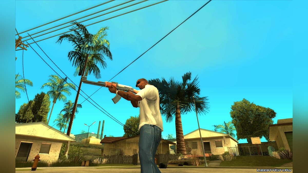 CLEO script Rotate the camera while aiming for GTA San Andreas
