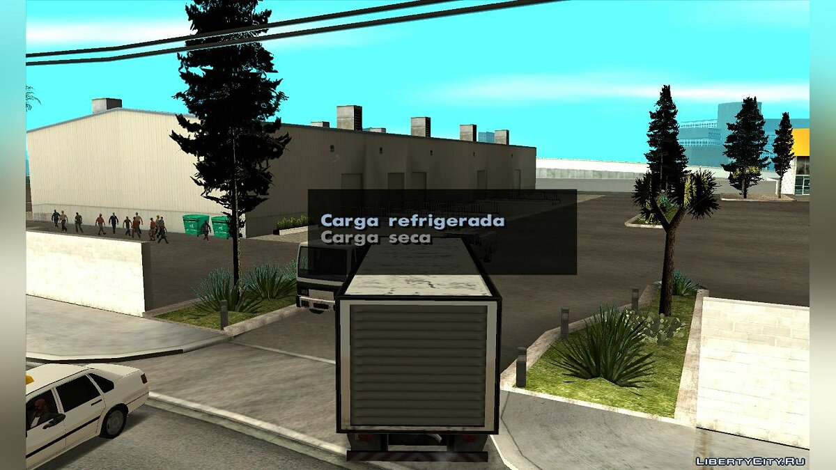 CLEO script Cargo delivery for GTA San Andreas