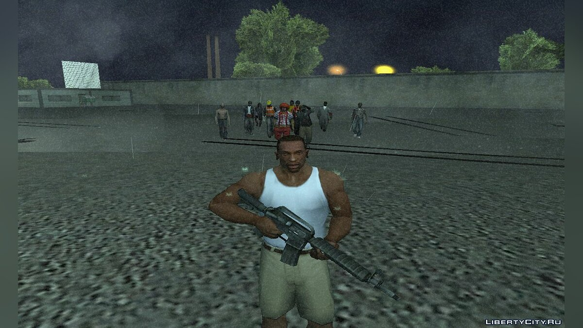 CLEO script The Zombie Deathmatch for GTA San Andreas