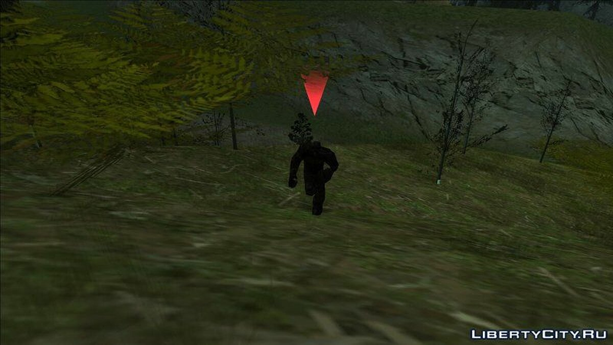 CLEO script Bigfoot hunting for GTA San Andreas