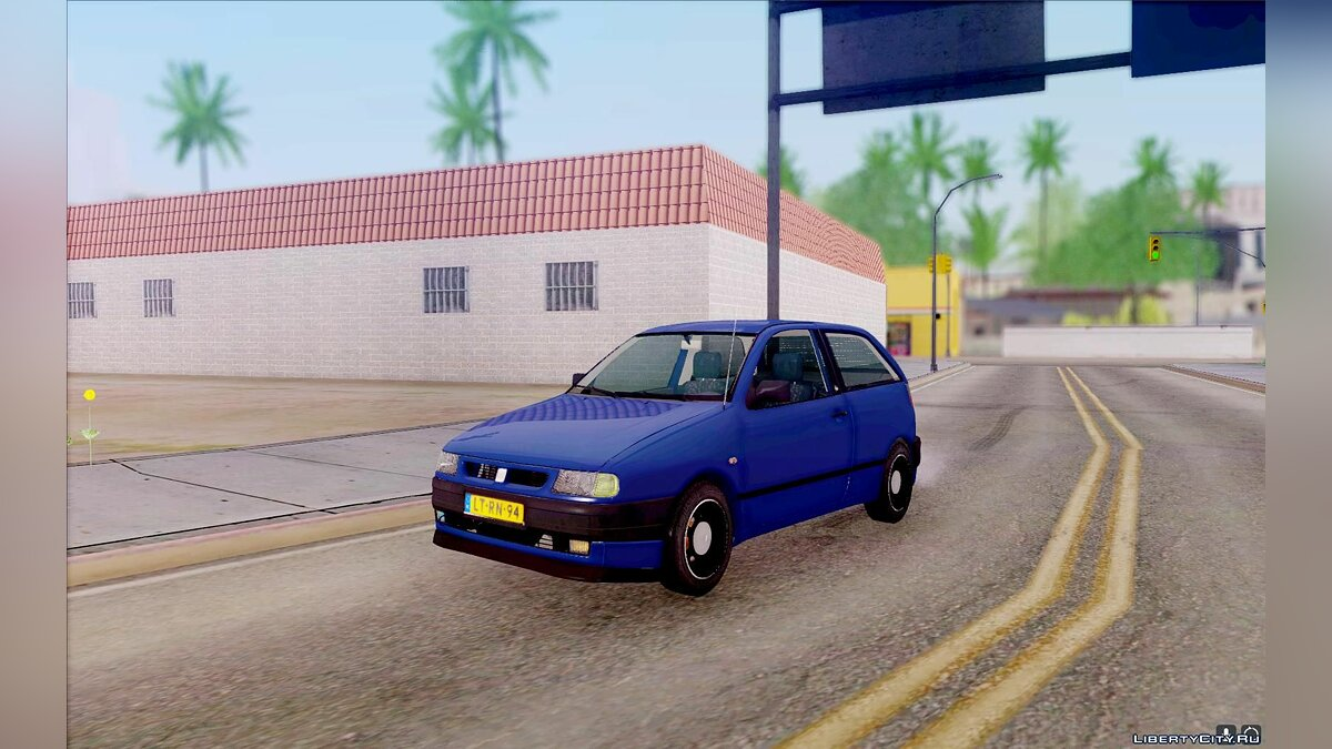 Seat car Seat Ibiza GLXI 1.4 1994 for GTA San Andreas