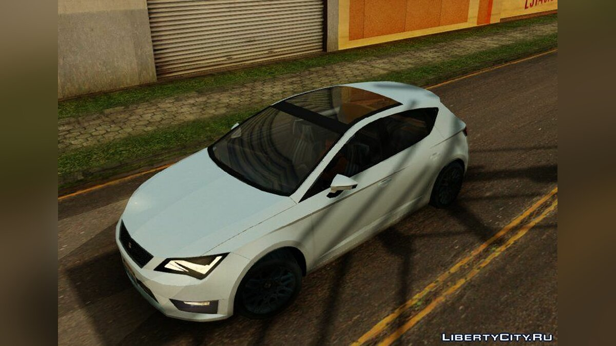 Seat car Seat Leon FR 2019 Lowpoly for GTA San Andreas