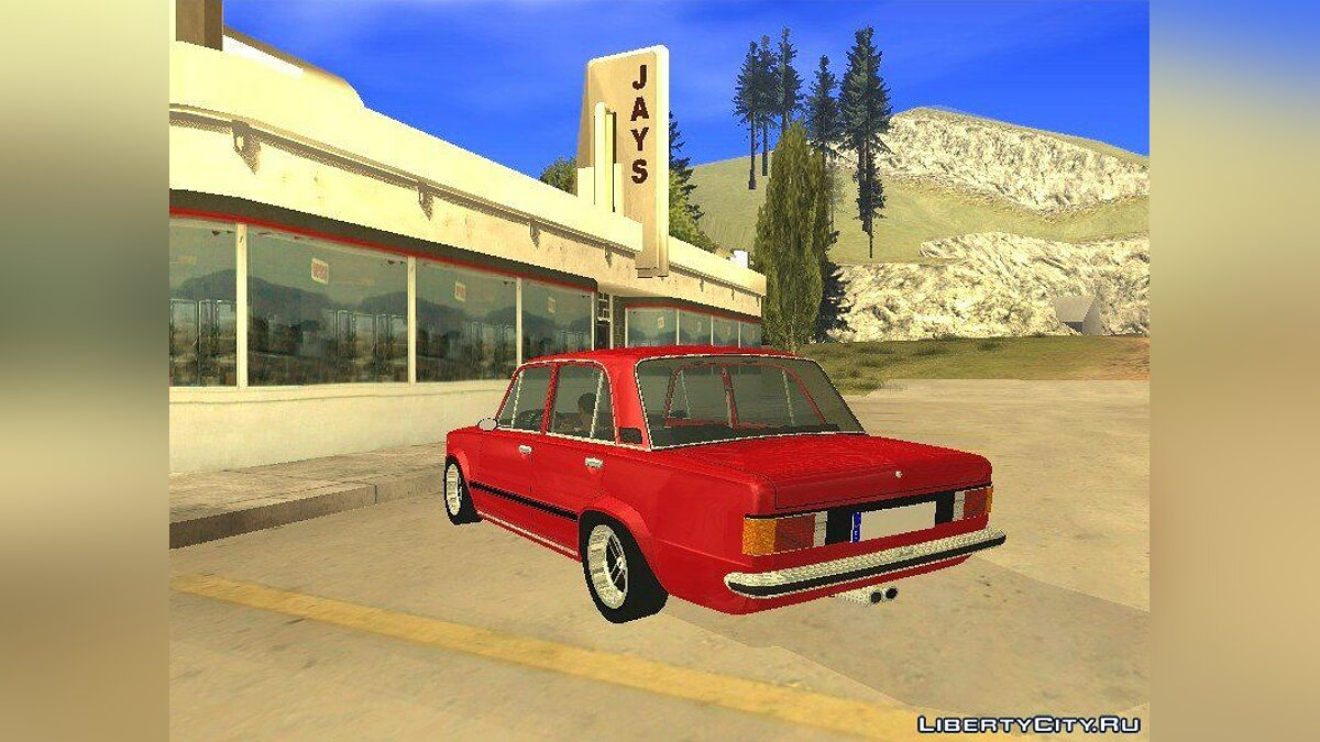 Seat car Seat 124 2000 for GTA San Andreas