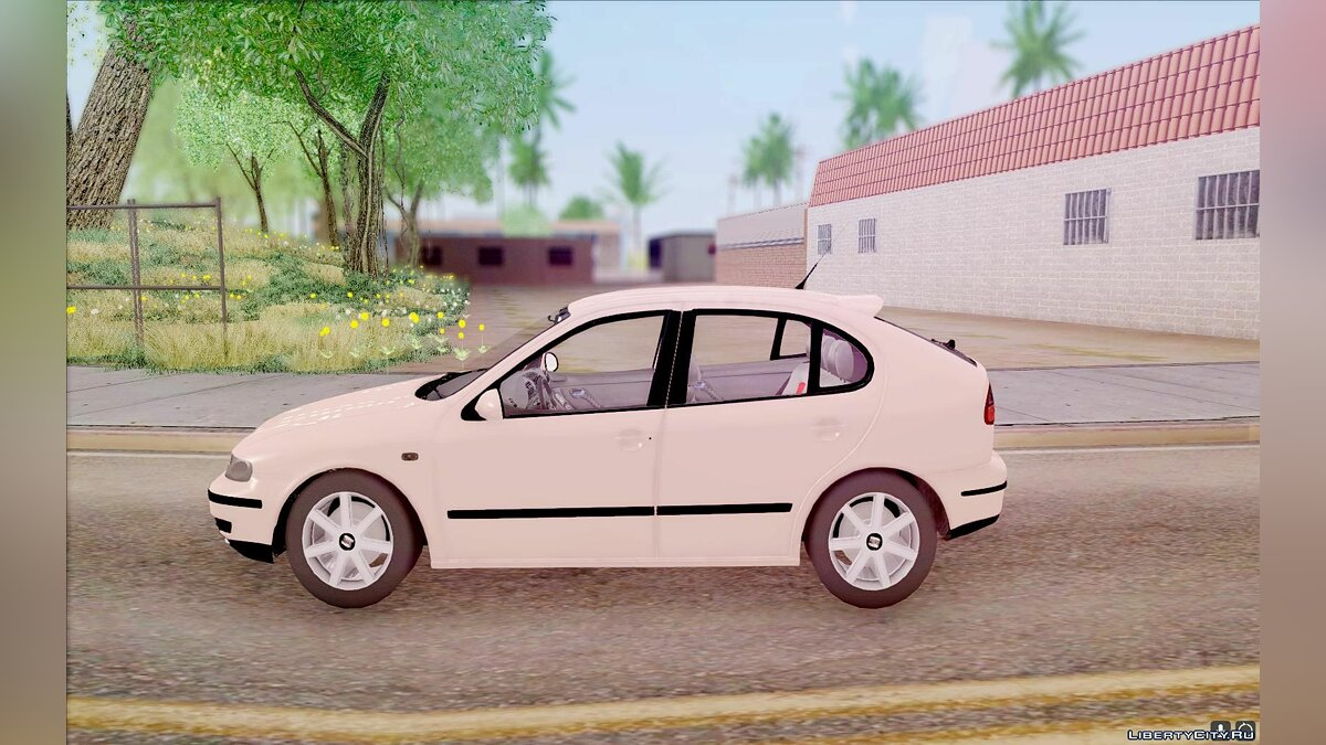 Seat car Seat Leon 1.9 TDI for GTA San Andreas