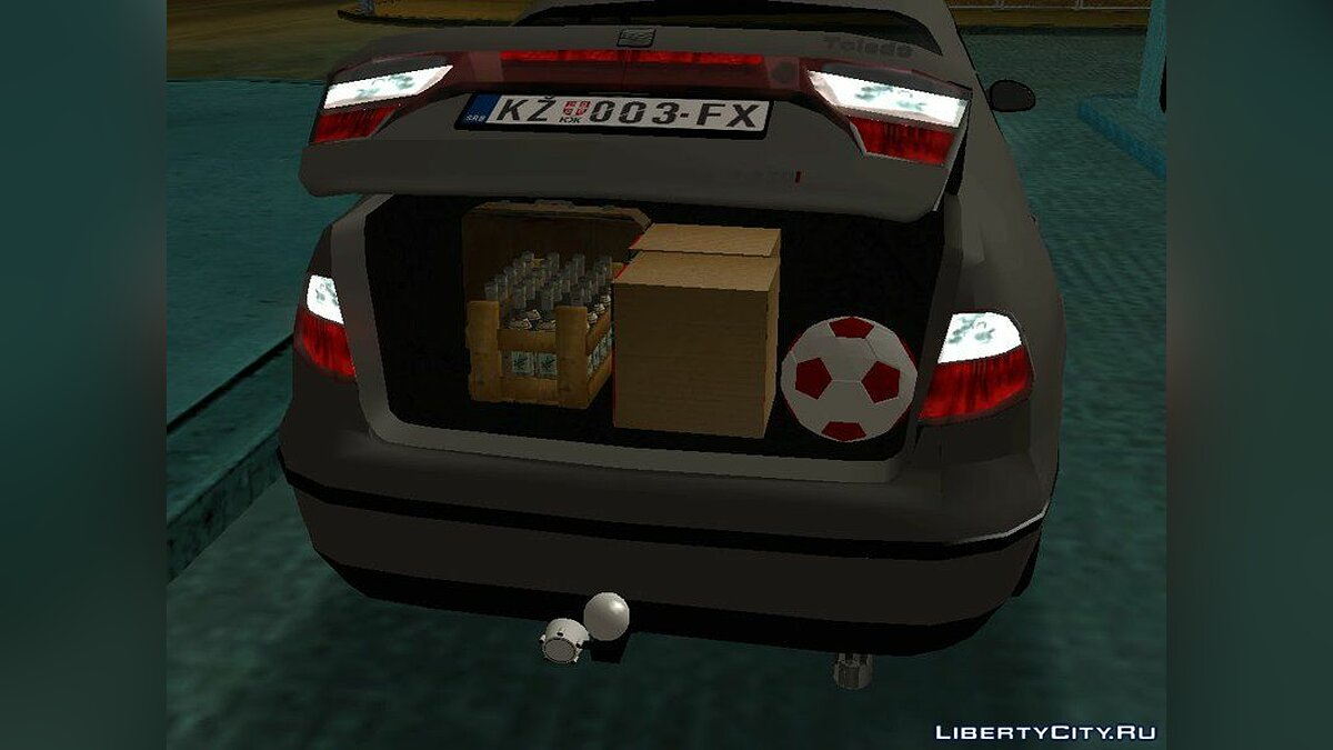 Seat car Seat Toledo 1.9 for GTA San Andreas