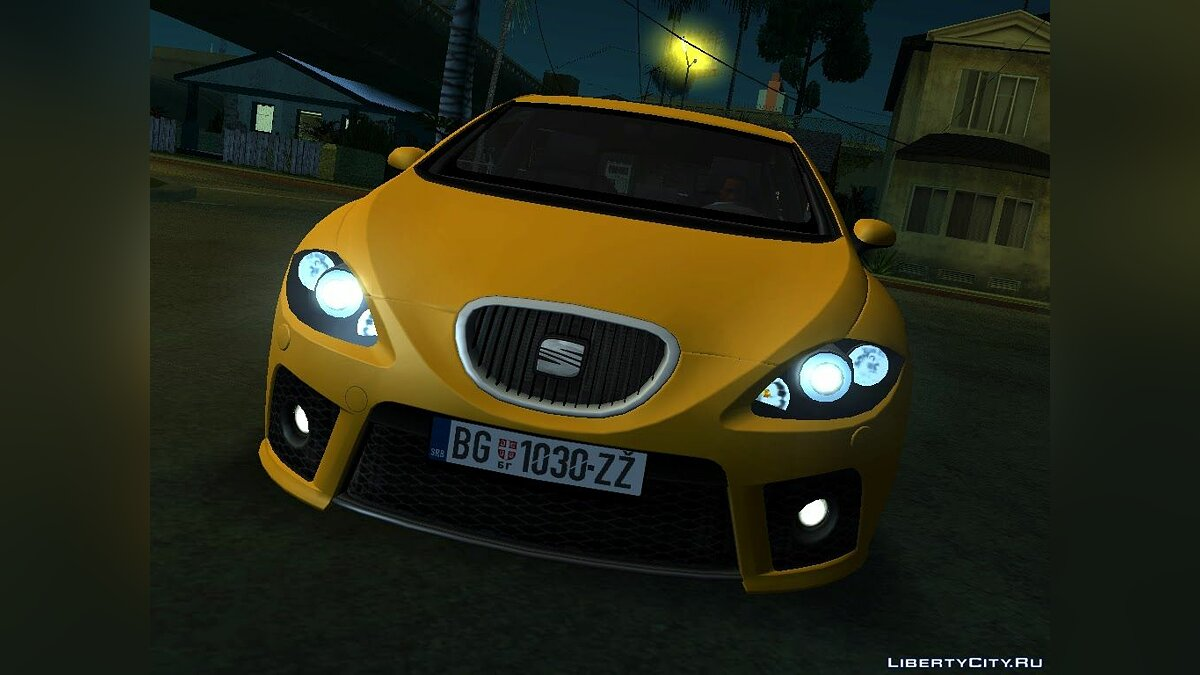 Seat car Seat leon cupra for GTA San Andreas