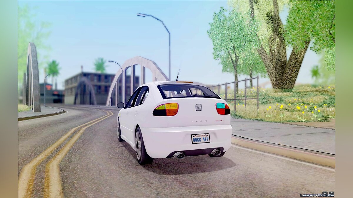 Seat car Seat Leon Cupra R Series I for GTA San Andreas