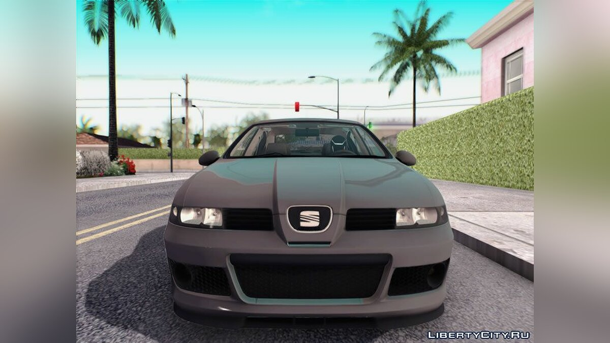 Seat car SEAT Leon Cupra R 2003 for GTA San Andreas