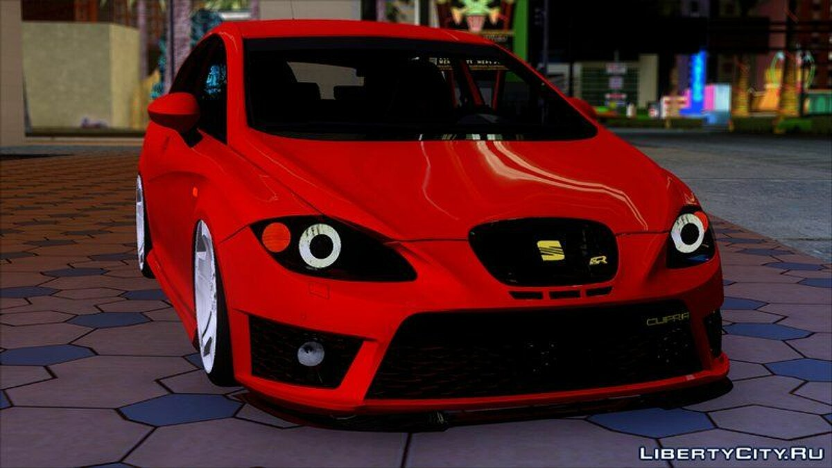 Seat car Seat Leon Cupra R for GTA San Andreas