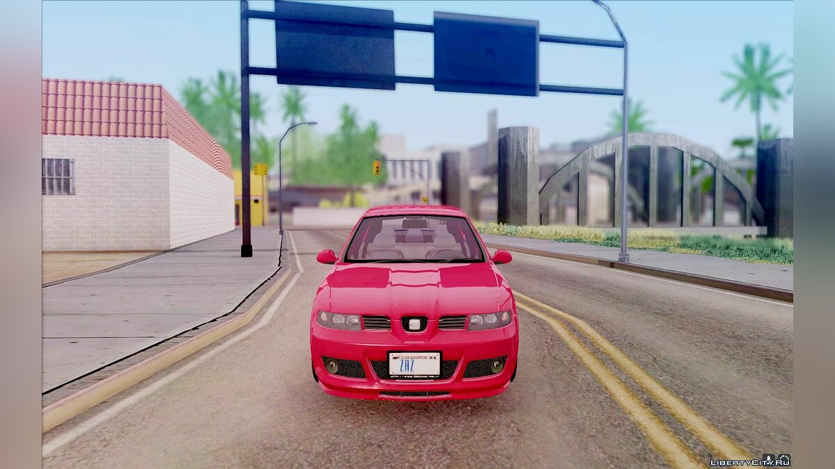 Seat car Seat Leon Cupra - Stock for GTA San Andreas