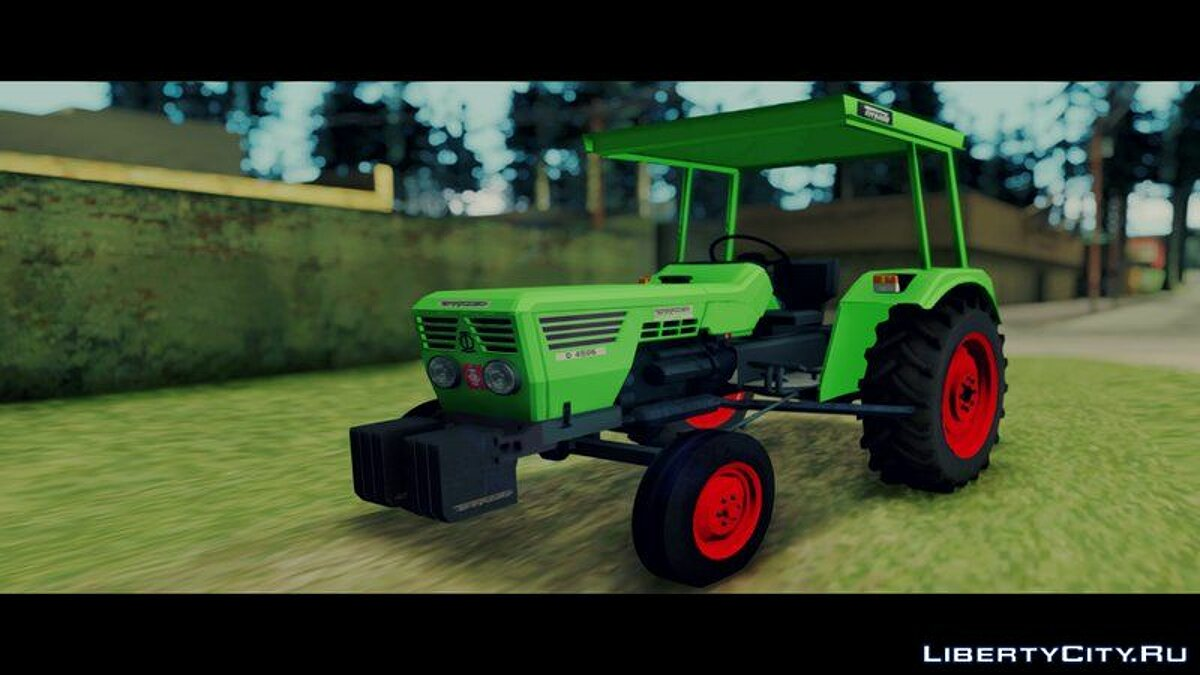 Farming vehicles Torpedo Td 4506 Special for GTA San Andreas
