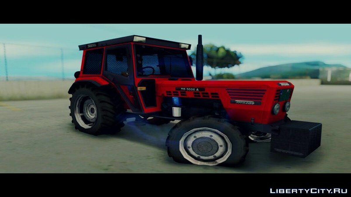 Farming vehicles Torpedo TD 90 06 A [Red] for GTA San Andreas
