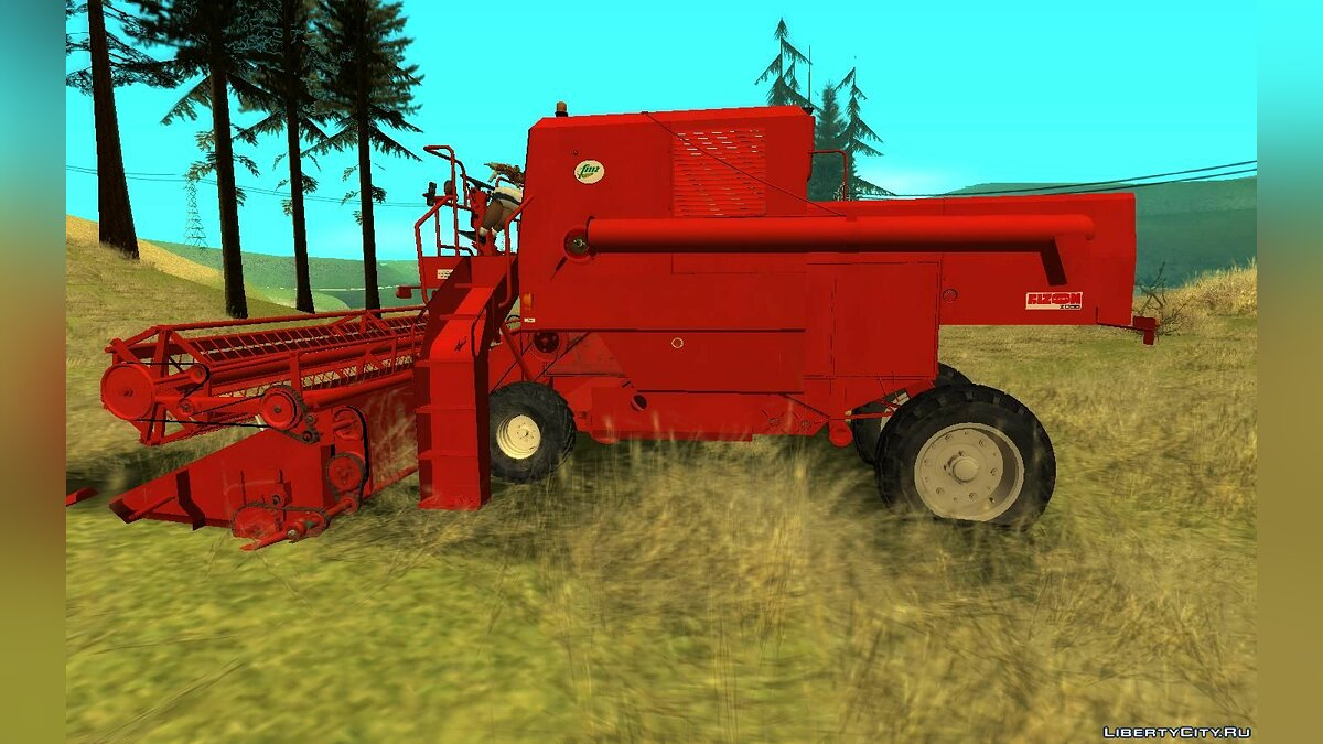 Farming vehicles FMZ Bizon Super Z056 for GTA San Andreas