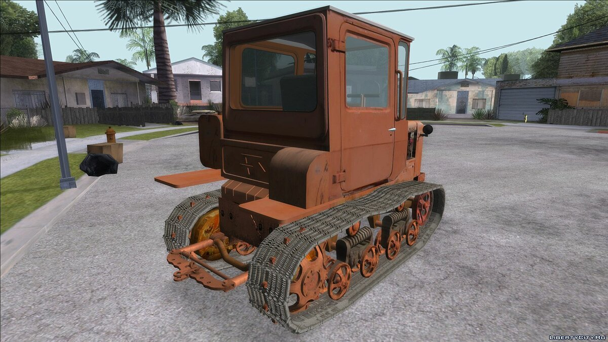 Farming vehicles Tractor DT-75 Postman for GTA San Andreas