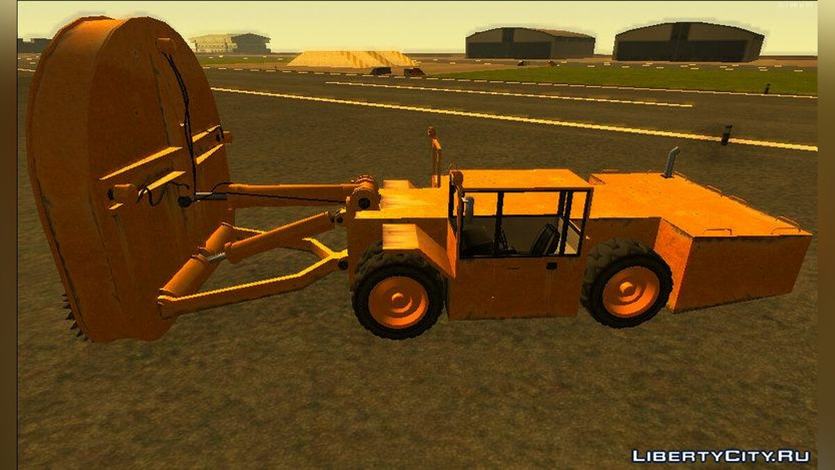 Farming vehicles HVY Cutter from GTA 5 for GTA San Andreas