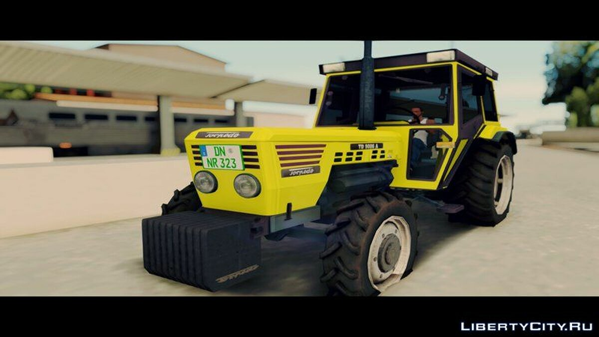 Farming vehicles Torpedo TD 90 06 A [Yellow] for GTA San Andreas