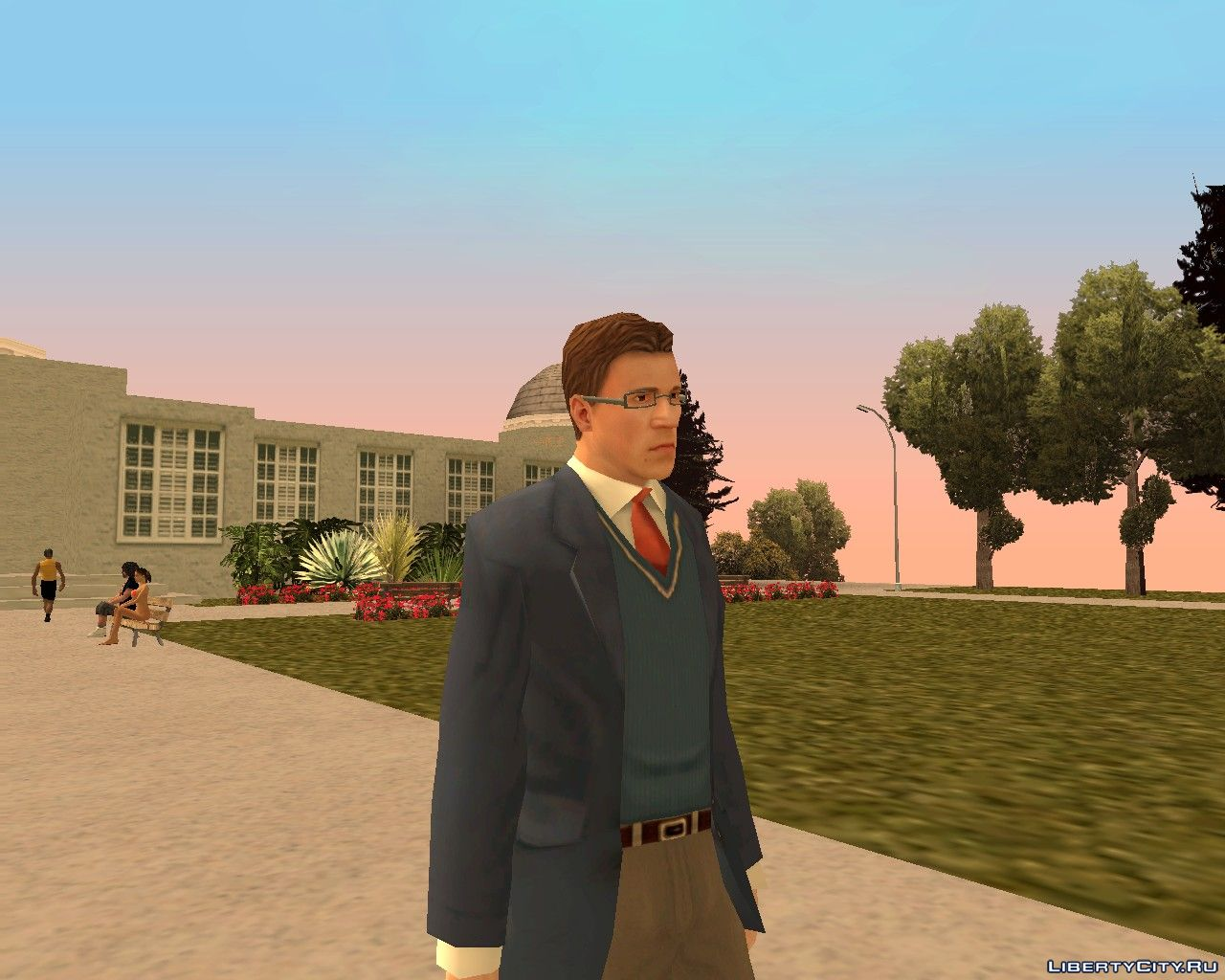 Bully Scholarship Edition Characters Pack for GTA San Andreas