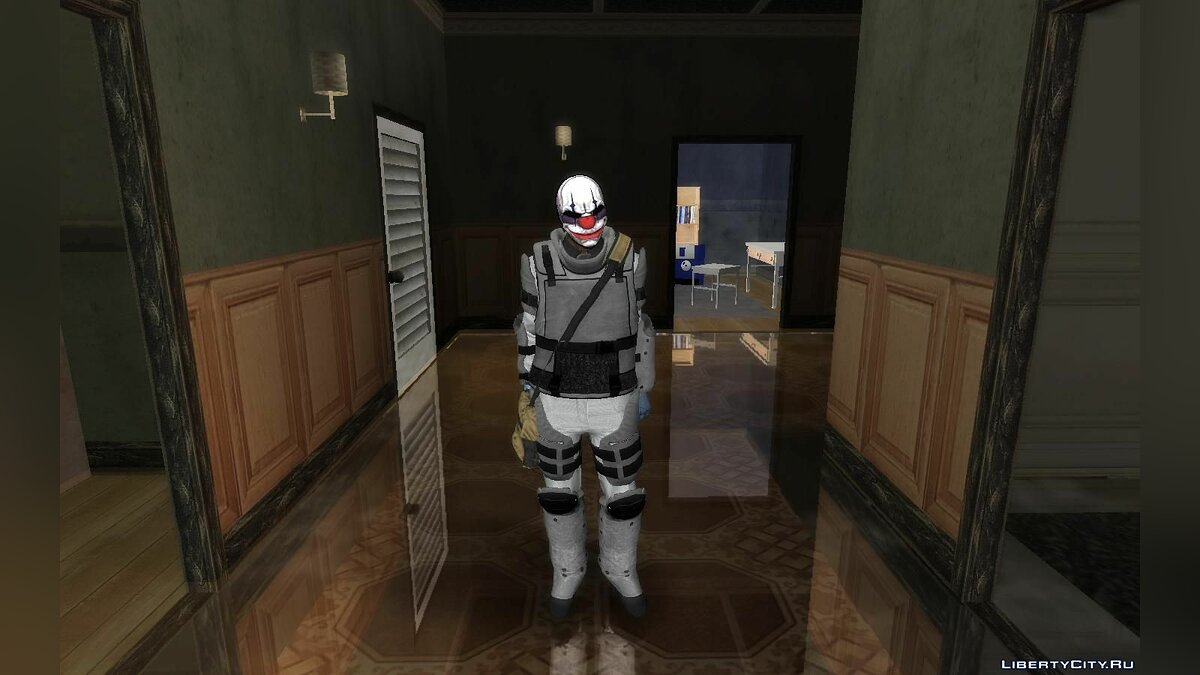 Skin packs Chains from PAYDAY 2 (Collection of HD skins) for GTA San Andreas