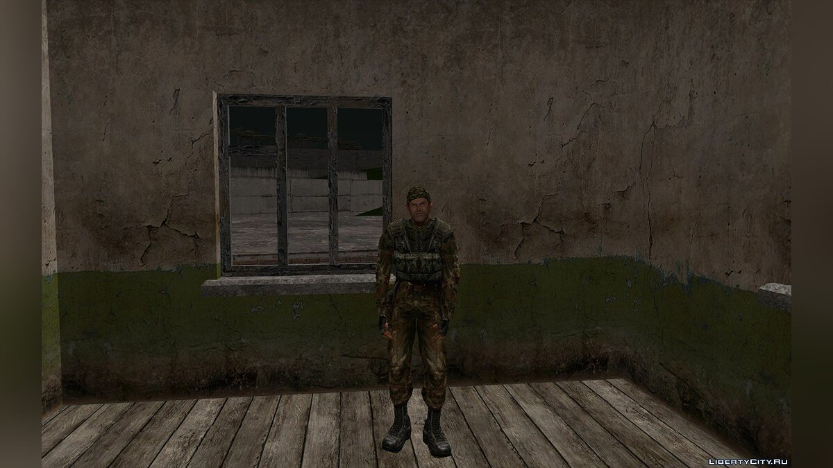 Skin packs A huge collection of military personnel from S.T.A.L.K.E.R. for GTA San Andreas