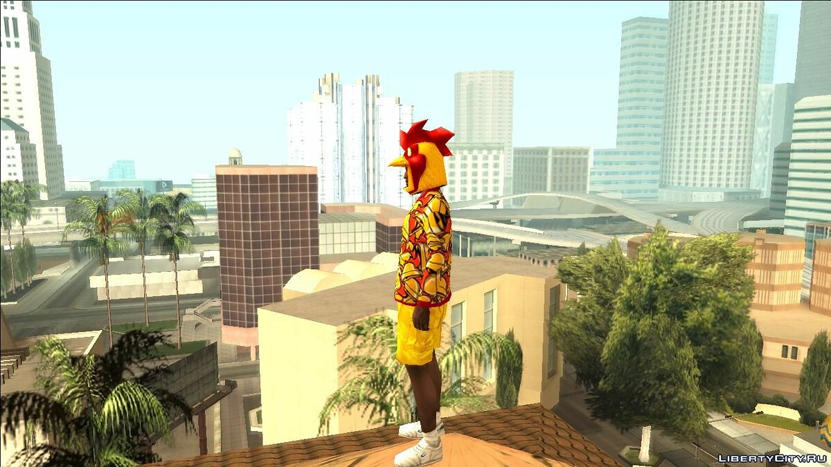 Skin packs Cluckin Clothing & # x27; Bell for GTA San Andreas